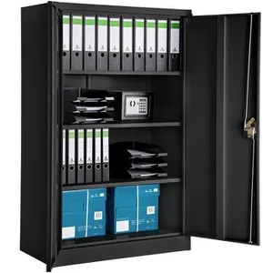 armoire de bureau tectake armoire de bureau meuble de rangement de