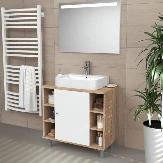 meuble sous lavabo norvegia 60 x 54 x 32 cm