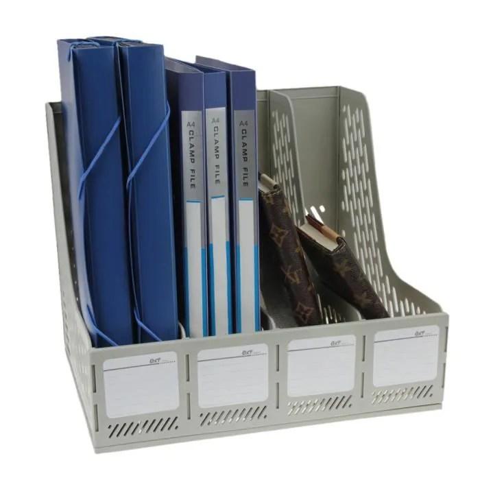 Bote De Rangement Bureau Classement De Dossiers Papier A4