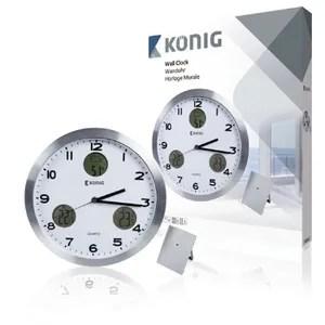 horloge pendule horloge murale avec unite exterieure