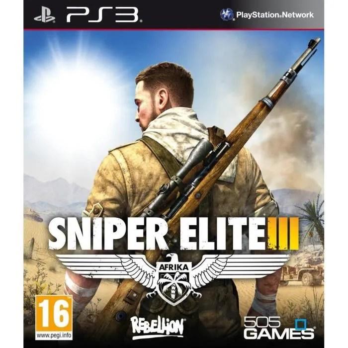 Sniper Elite III Jeu PS3 Achat Vente Jeu Ps3 SNIPER