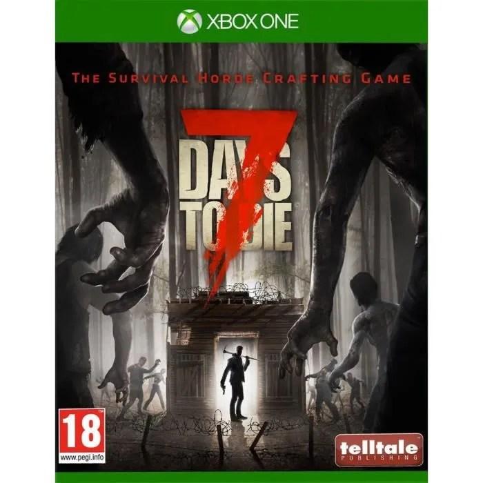 7 Days To Die Jeu Xbox One Avis Test Cdiscount