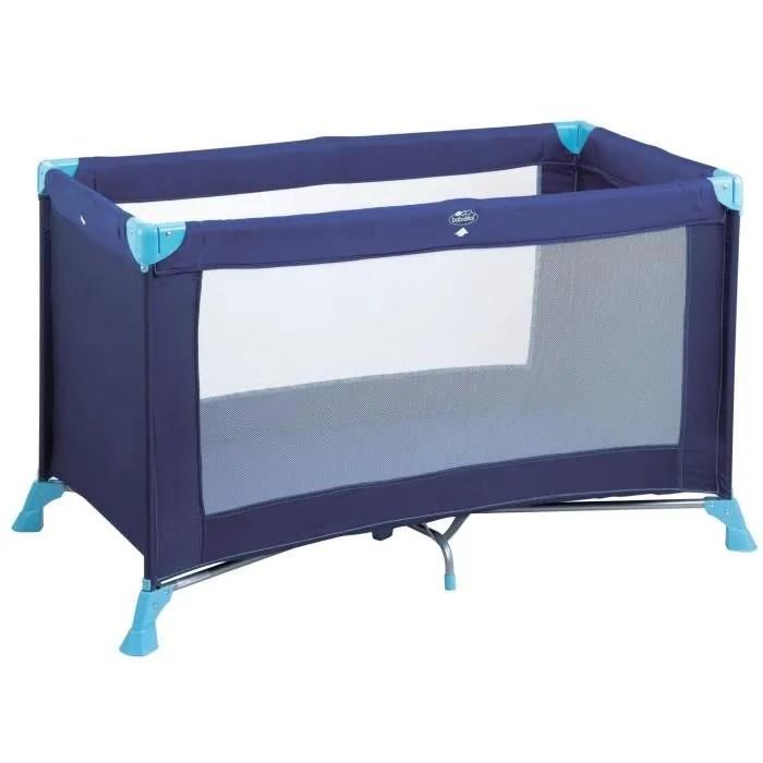 BABIDEAL Lit Parapluie Kompak Bleu Bleu Achat Vente
