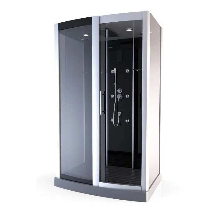 AURLANE Cabine De Douche Premium Rectangle 115x90cm
