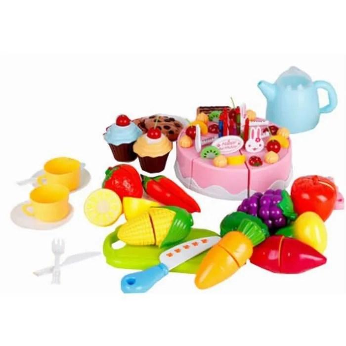 Jeux Enfants Jouet Enfant Cuisine Pour Enfant Fruits Et