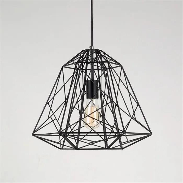 Lustre Design Contemporain Mtal Retro Industriel Forme