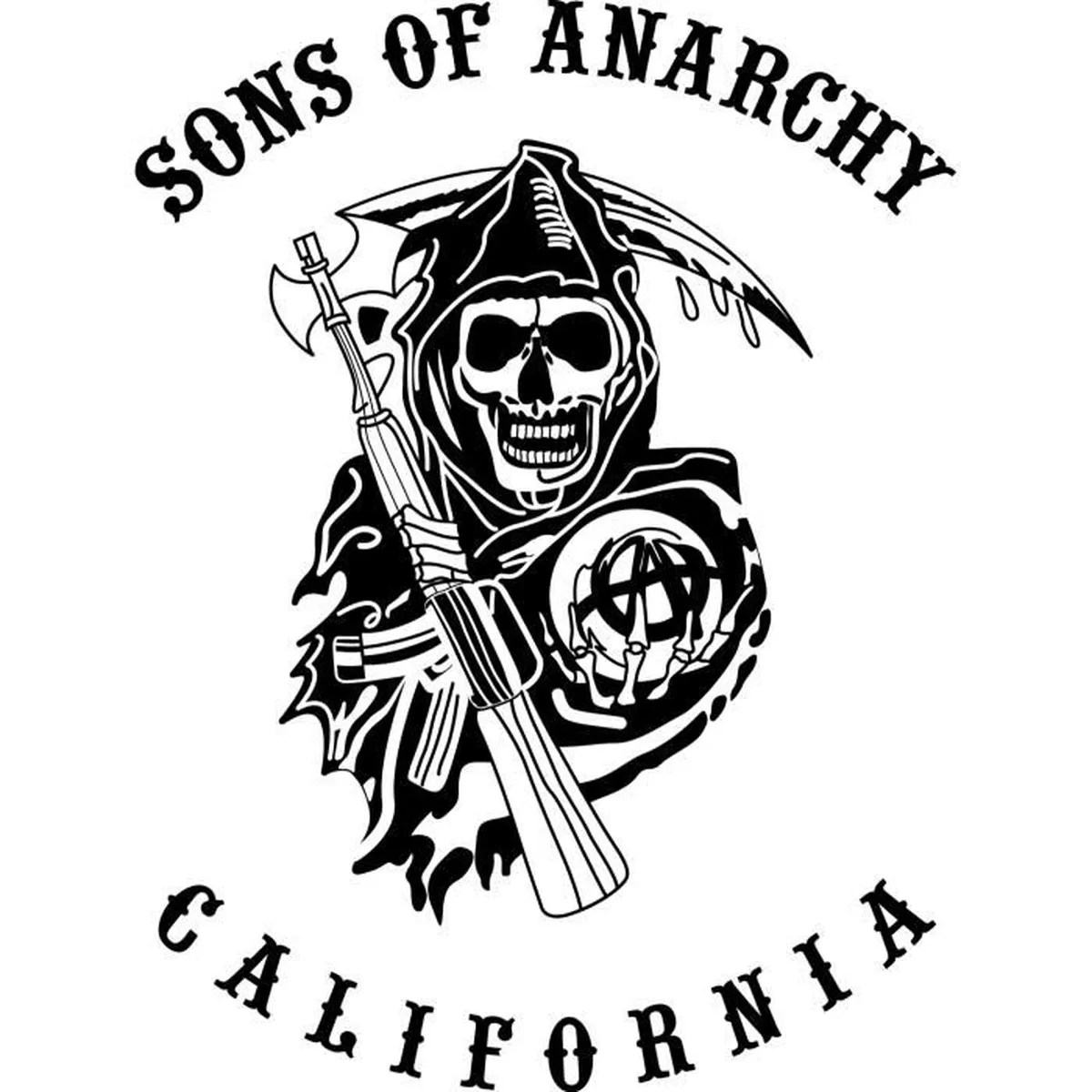 Sticker Sons Of Anarchy 104