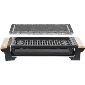 grill electrique h koenig rp320 grill 2 en 1 fonction pierre