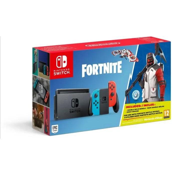 Console Nintendo Switch Fortnite Edition Achat Vente