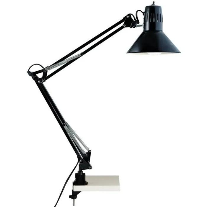 hobby lampe de bureau articulable avec interrupteur et fixation serre joint