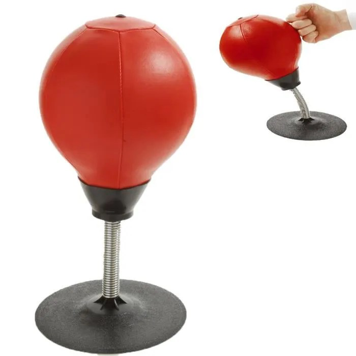 buster stress bureau punching ball heavy duty aspiration sac autoportant reflex wr2132