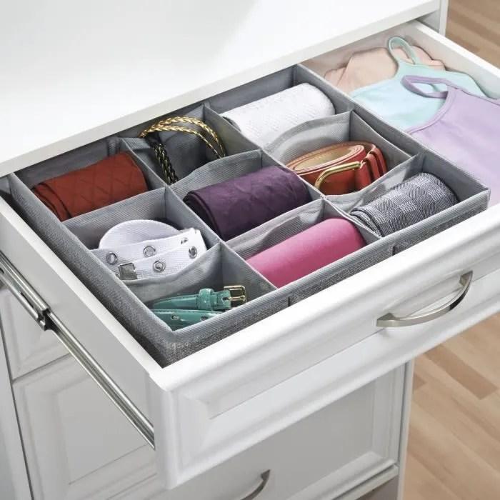 range couverts boite de rangement pour armoire ou commode a