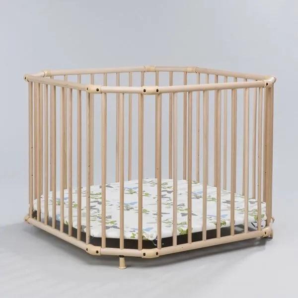 parc belami naturel 102 x 102 cm fond pois achat vente parc bebe