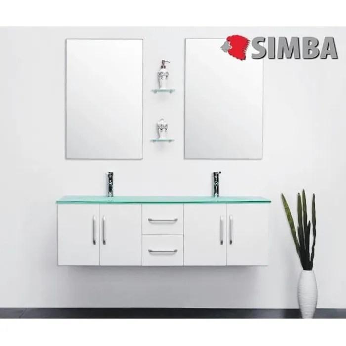 meuble salle de bain double vasque luxe beau meuble double vasque 150 cm w ice ensembles