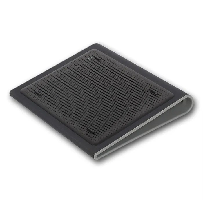 targus support ventile pour ordinateur portable lap chill mat gris