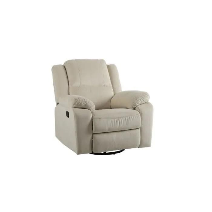 fauteuil fauteuil de relaxation surdimensionne velours