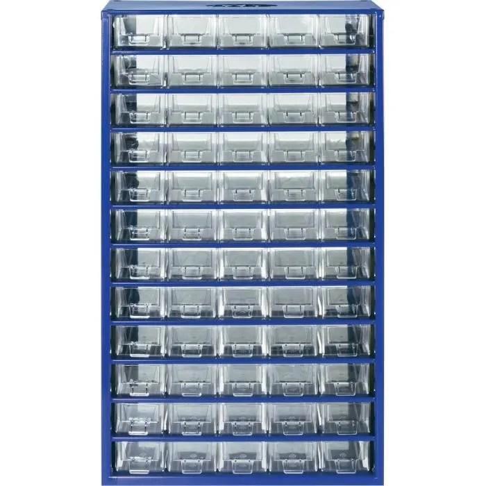 Armoire Datelier 60 Tiroirs Bleu 305 X 550 X 1 Achat