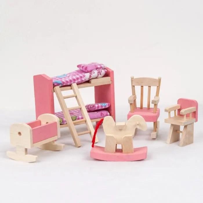 Meuble Du Jouet En Bois Maison De Poupe Enfants Furniture