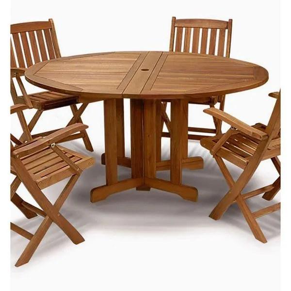 Table De Jardin Bois Exotique - Novocom.top