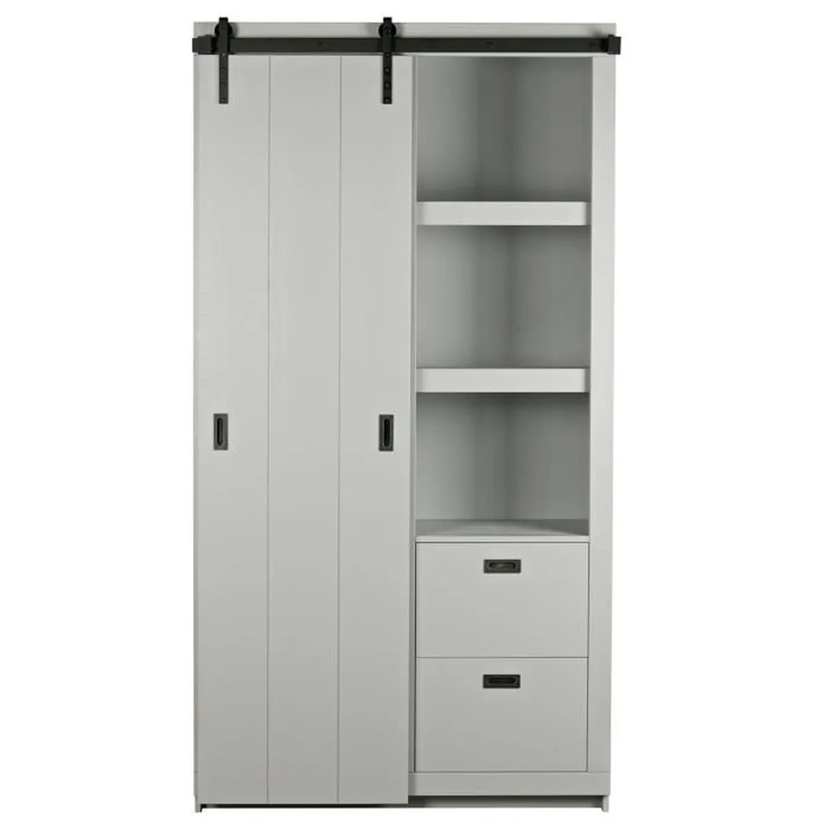 armoire pin brut