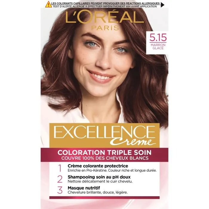 LOral Paris Excellence Coloration Chtain Tri Achat