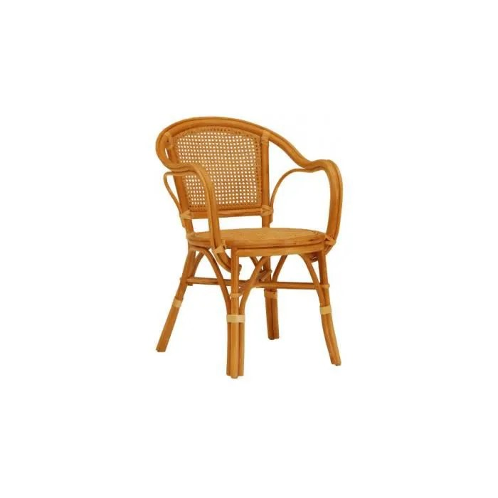 Fauteuil Cannage Rotin Miel Achat Vente Fauteuil Rotin