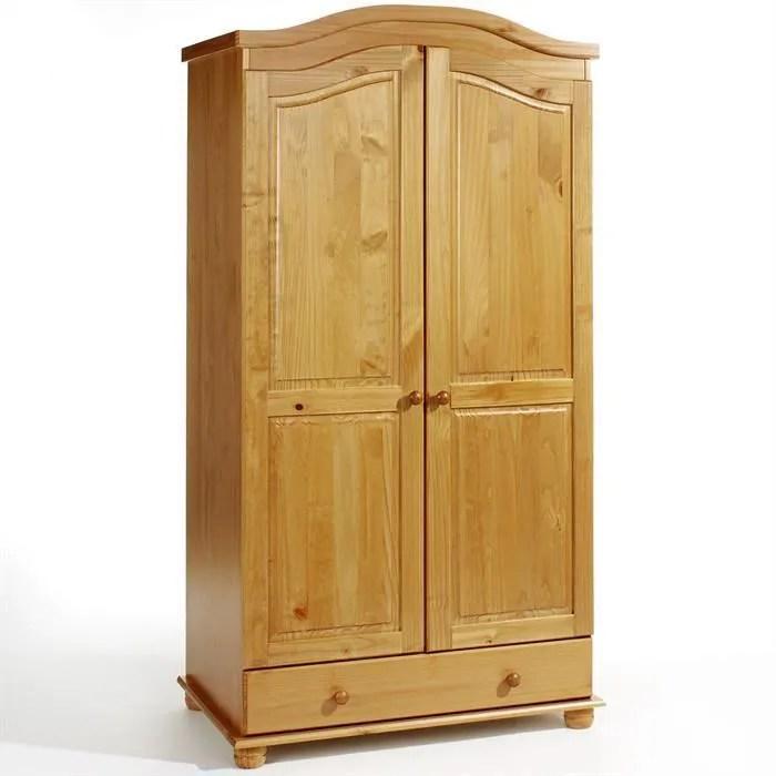 armoire en pin bergen lasure couleur miel