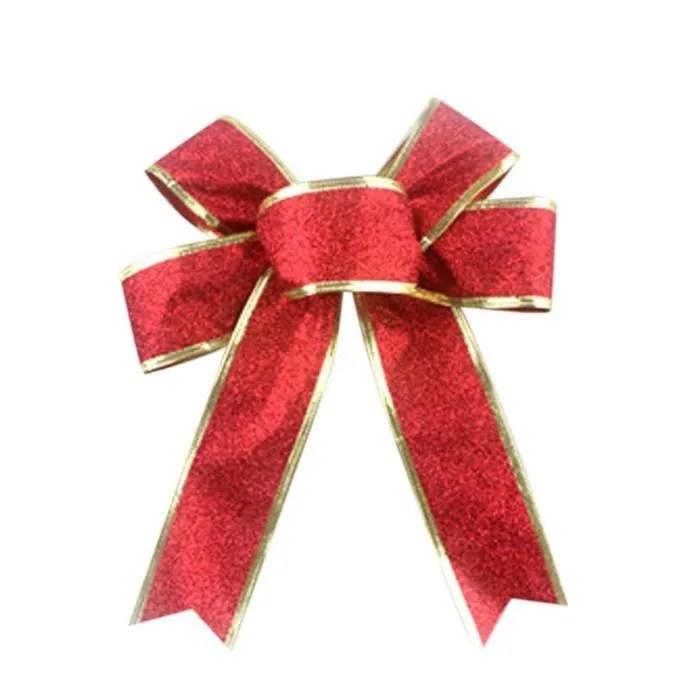 Noeud Cadeau Rouge Noeud De Ruban Rouge Isol Sur Blanc