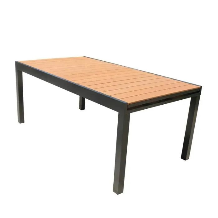 Table Jardin Extensible Alu - Novocom.top