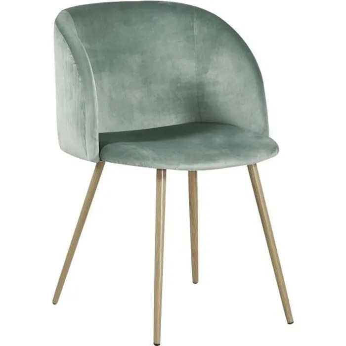 fauteuil en tissu velours retro fauteuil rembourre pour salle a manger salle d attente salon mobilier moderne de bureau vert