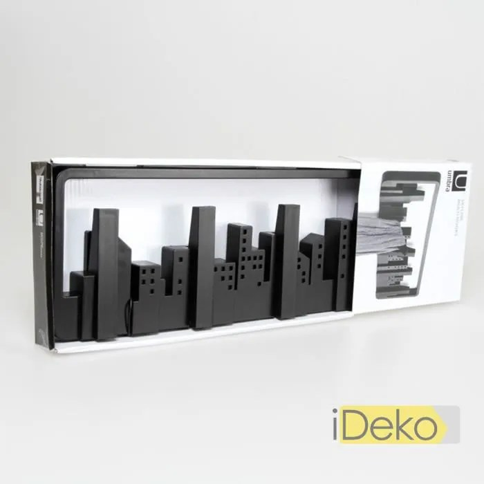 ideko porte manteaux mural en plastique depoli design minimalism centre ville support mural manteau idjj 1510282