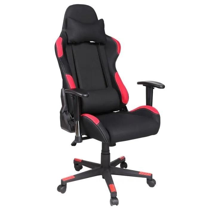 chaise de bureau ordinateur pivotante reglable inclinable moderne cadre en acier leve fauteuil ergonomique