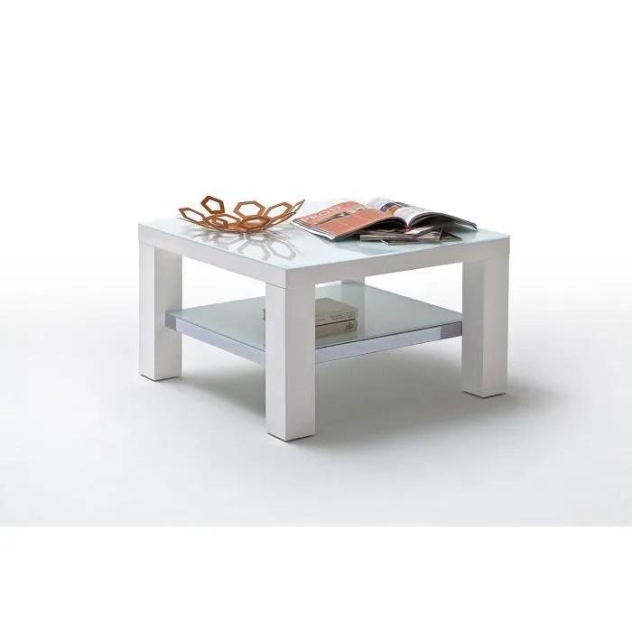 Table Basse 75 X 75 Cm JORDAN L 75 X P 75 X H 40 Cm