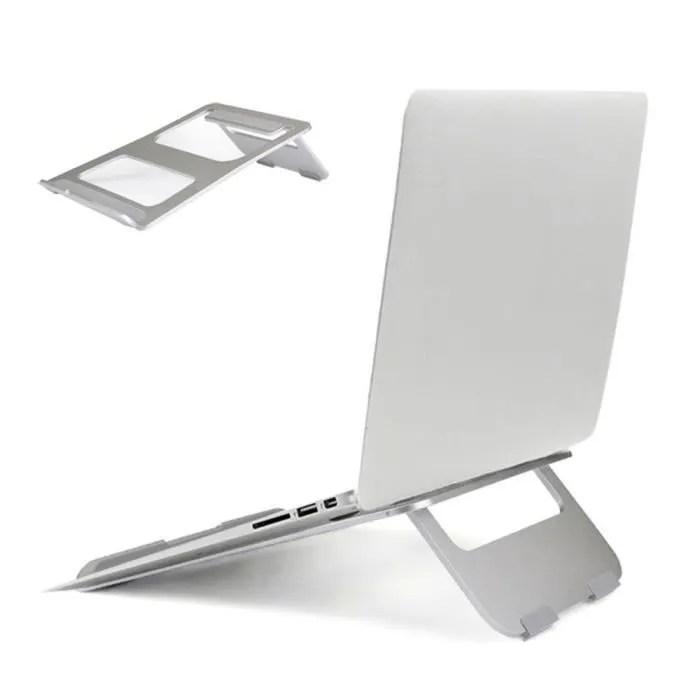 housse pc portable support d ordinateur portable en aluminium pliable