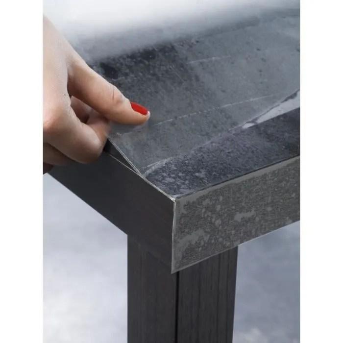 rouleau de revetement adhesif decoratif cristal transparent 0 45x2 m rouleau de 2 m