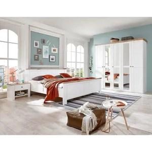 chambre complete chambre adulte complete coloris blanc rechampis i