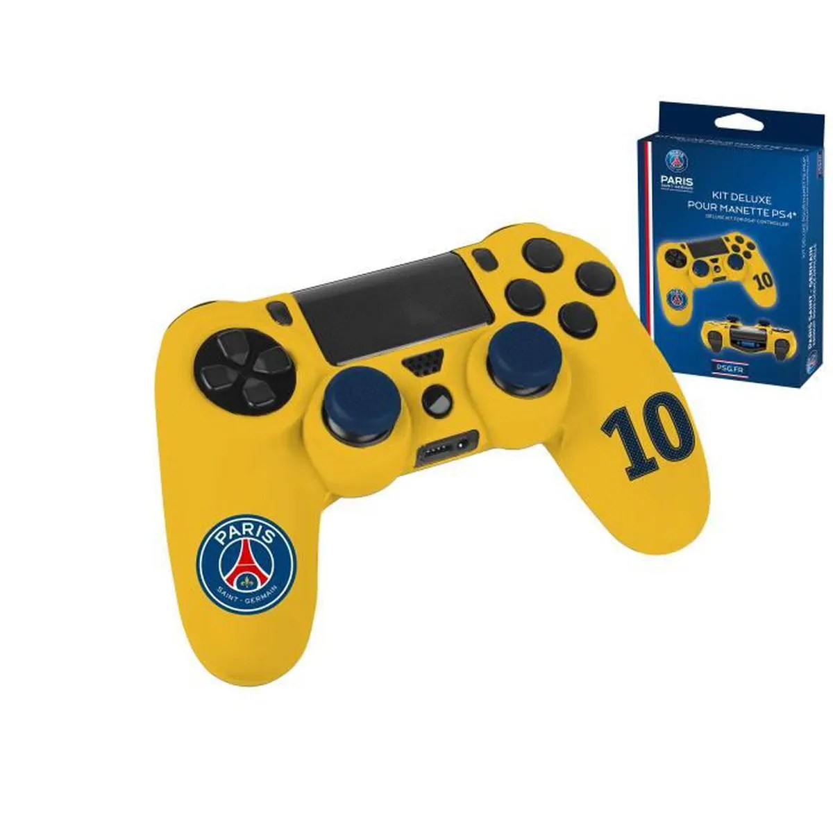 Kit Deluxe Pour Manette PS4 Housse Caps Silicone