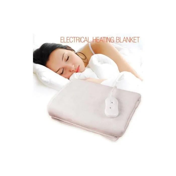 couverture chauffante couverture chauffante pour lit double surematela
