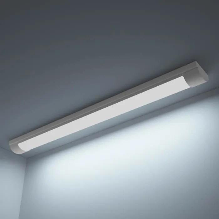 luminaire lustre lampe led au plafond blanc froid 28 w pour maison bureau salle de reunion