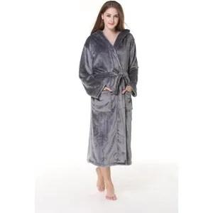 robe de chambre pyjama femmes flanelle robe de chambre a capuche c