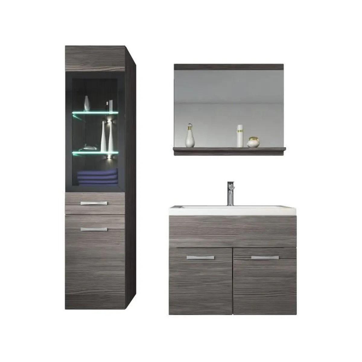 meuble salle bain led