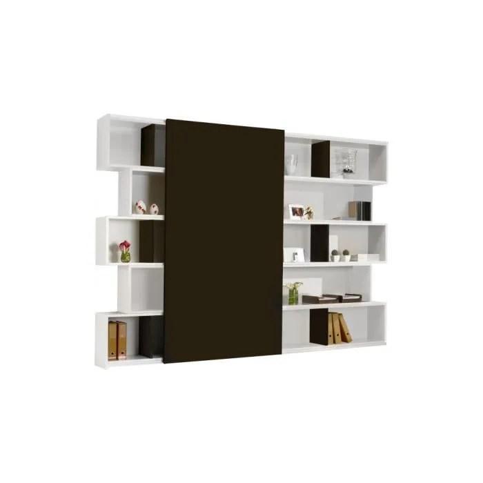 Bibliotheque Laque Blanc Maison Design