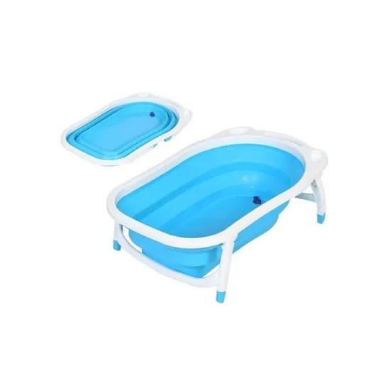 baignoire pliable pour enfant bleu achat vente baignoire 3662332014925 cdiscount