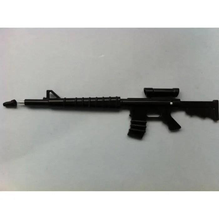 Stylo Bille Mitraillette Fusil Arme Militaire Achat
