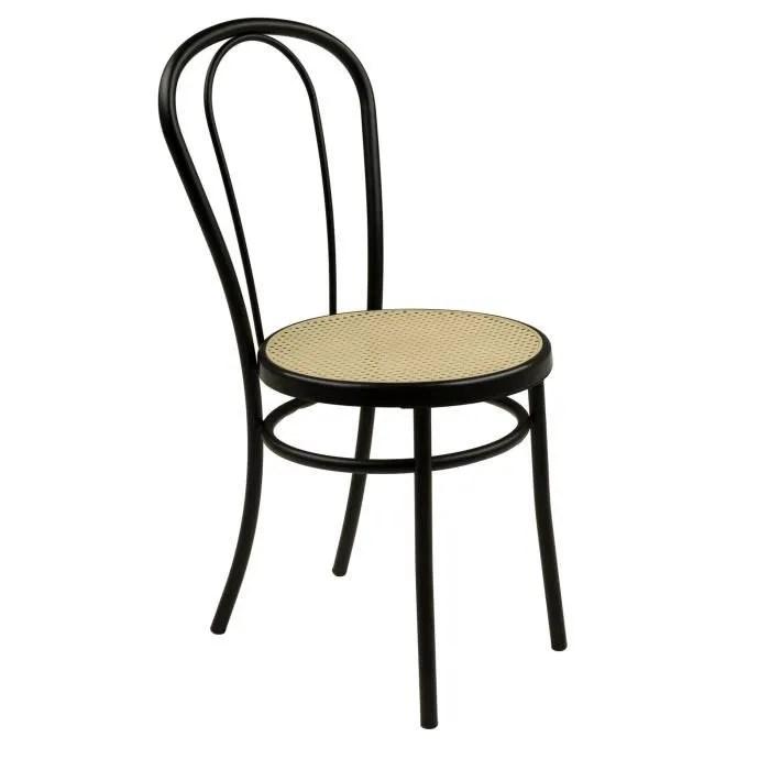 Bistrot Chaise Noire Style Bistrot Noir Achat Vente