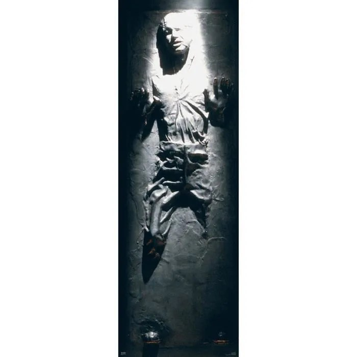 Poster Star Wars Han Solo Carbonite Achat Vente