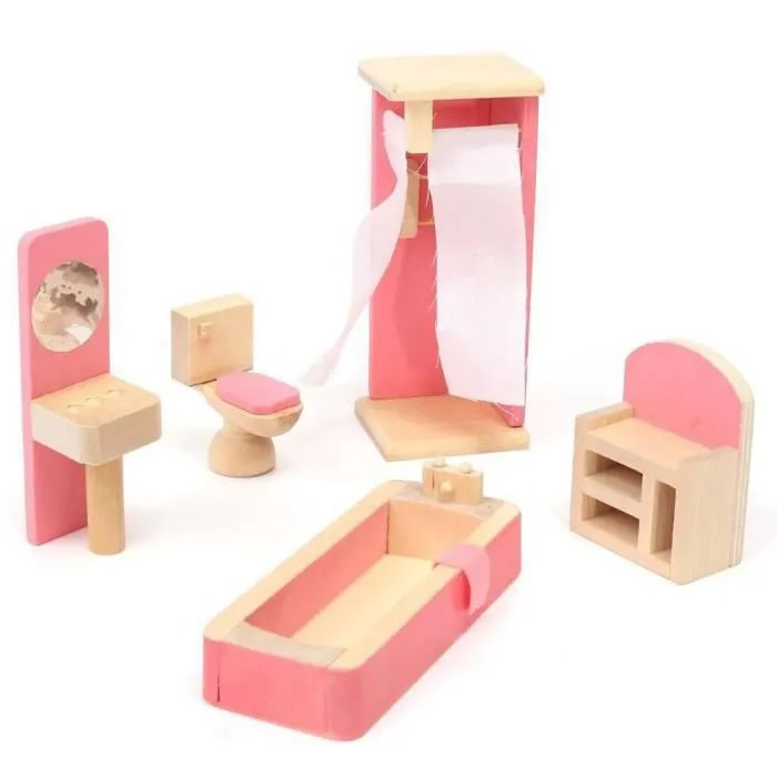 meubles de poupee en bois meubles de maison de poupee miniature pour enfants enfants jouet mini mobilier de jeu jouets educatifs