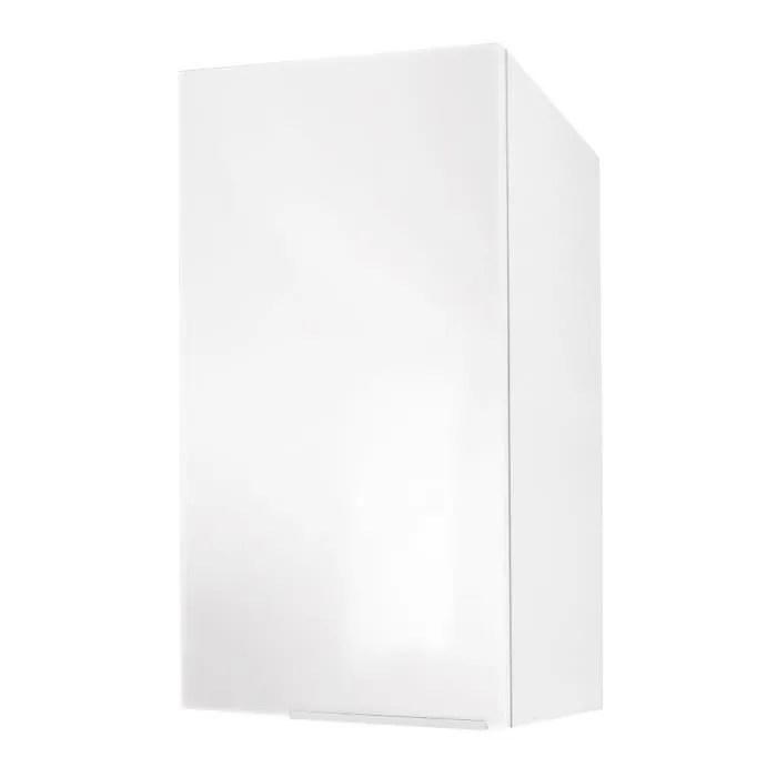 POP Caisson Haut De Cuisine 40 Cm Blanc Super Mat