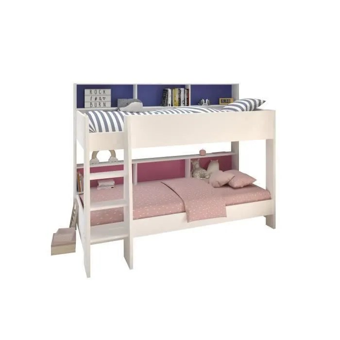 lit superpose avec matelas