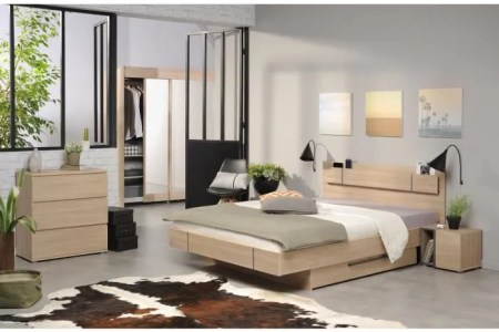 Best Home Design » chambre a coucher adulte maison du monde